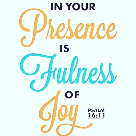 Stay in God's presence.  Be intentional about remaining in God's presence today. Sing a song in your heart, utter scriptures and be thankful for all the blessings. Give praise, adoration and reverence the name that is above every name JESUS  God's presence = complete happiness  #morninginspiration #dailyscripture #newlifebaptistchurch