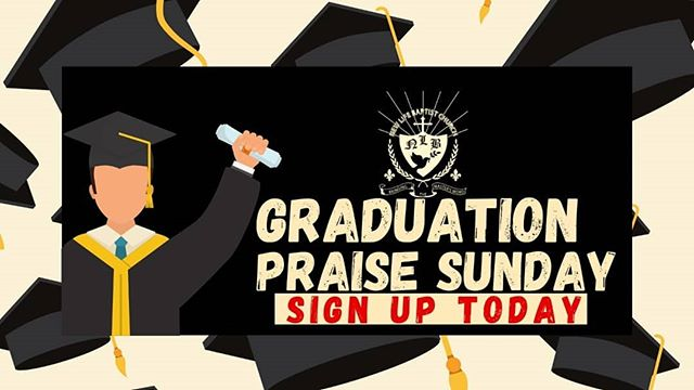 Calling all graduates from the NLBC Church.  Are you graduating from an institution of learning or  celebrating another form of academic accomplishment? We can't wait to celebrate you. Sign up and give us your names, school name, and details of any awards presented.  Let's give God praise for seeing you through to the end of this journey. Contact the office at nlbcbvi@gmail.com  #graduationpraisesunday #newlifebvi