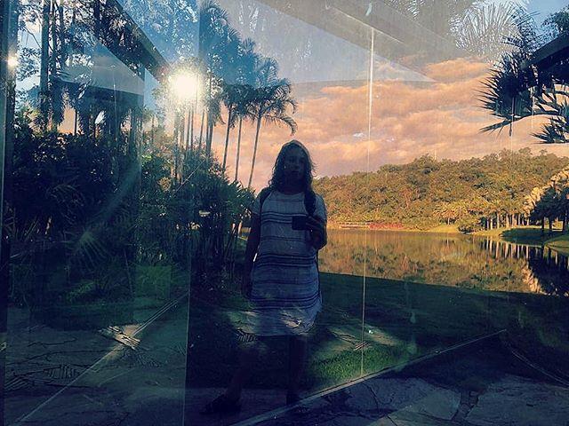 self ao final de dias maravilhosos #visiteinhotim #inhotim #helpbrumadinho