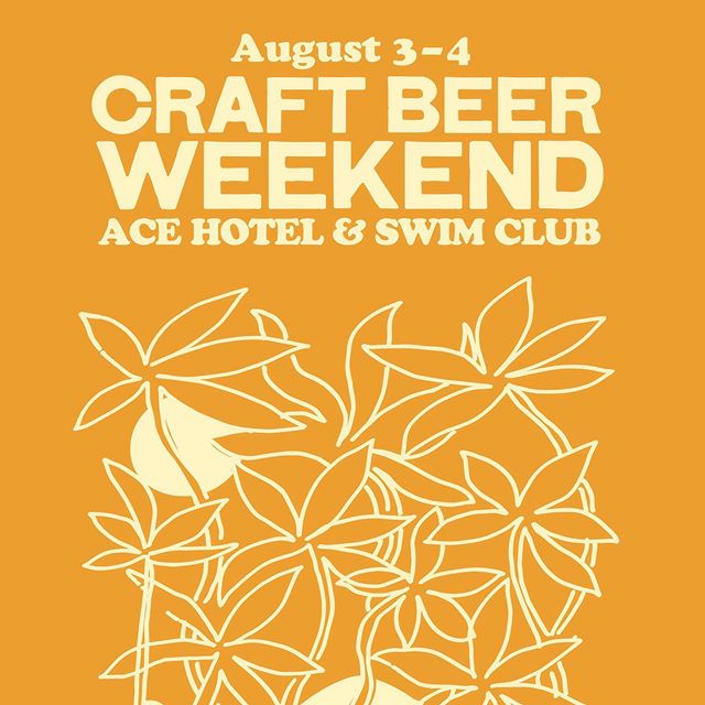 Craft beer weekend rears it's frothy head for our eighth annual celebration of hop-headed wonderment. With over 30 craft breweries pouring golden elixirs all weekend, you should probably stay over. Book a stay with code CRAFTBEER and we'll throw in 2 tickets to the festival as well as 2 beer tasting mugs to boot. Tickets and details at acehotel.com/craftbeer🍻 #craftbeerweekend #acehotelpalmsprings