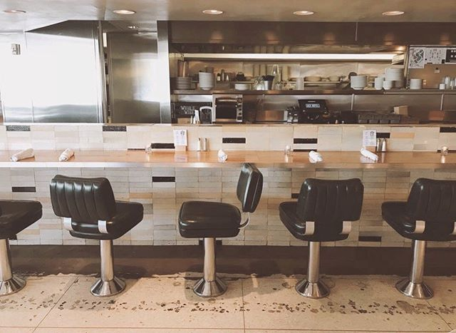 Saved you a seat. 📷 @giannalott #kingshighwaydiner