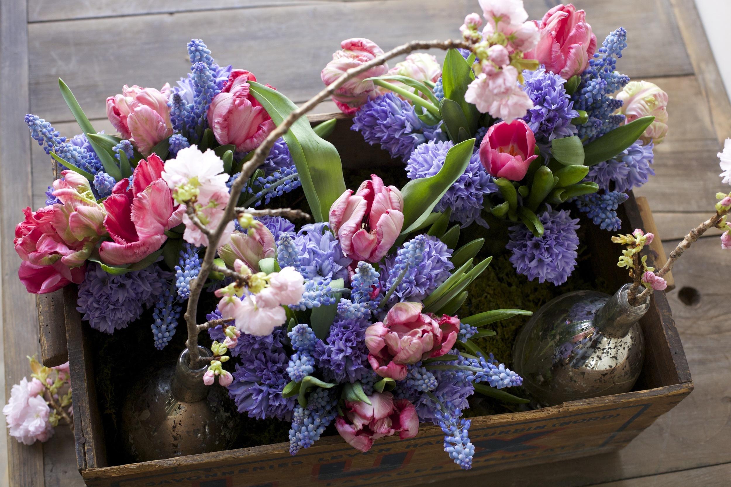 petit jardin en ville - french florist