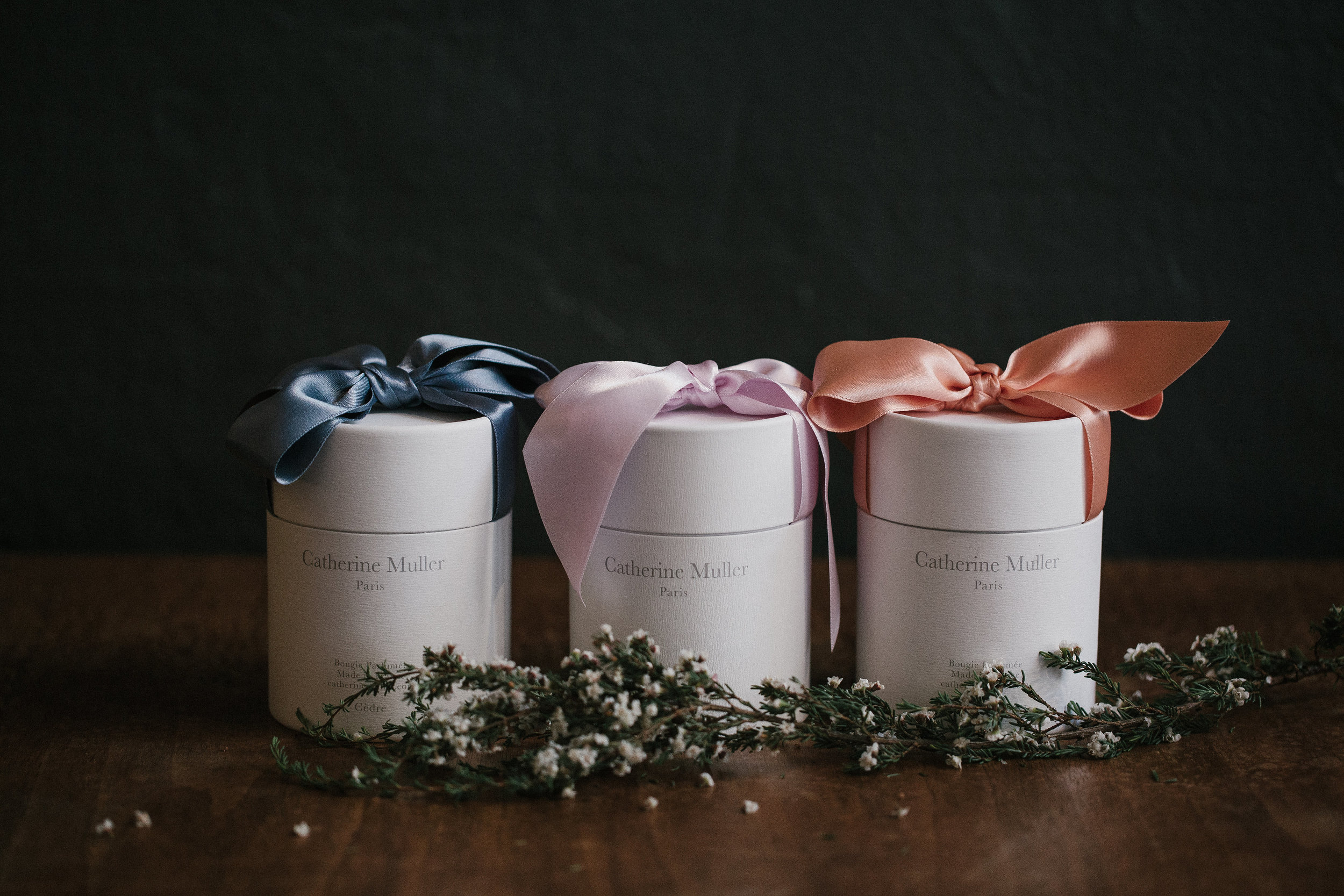 Catherine Muller scented candles