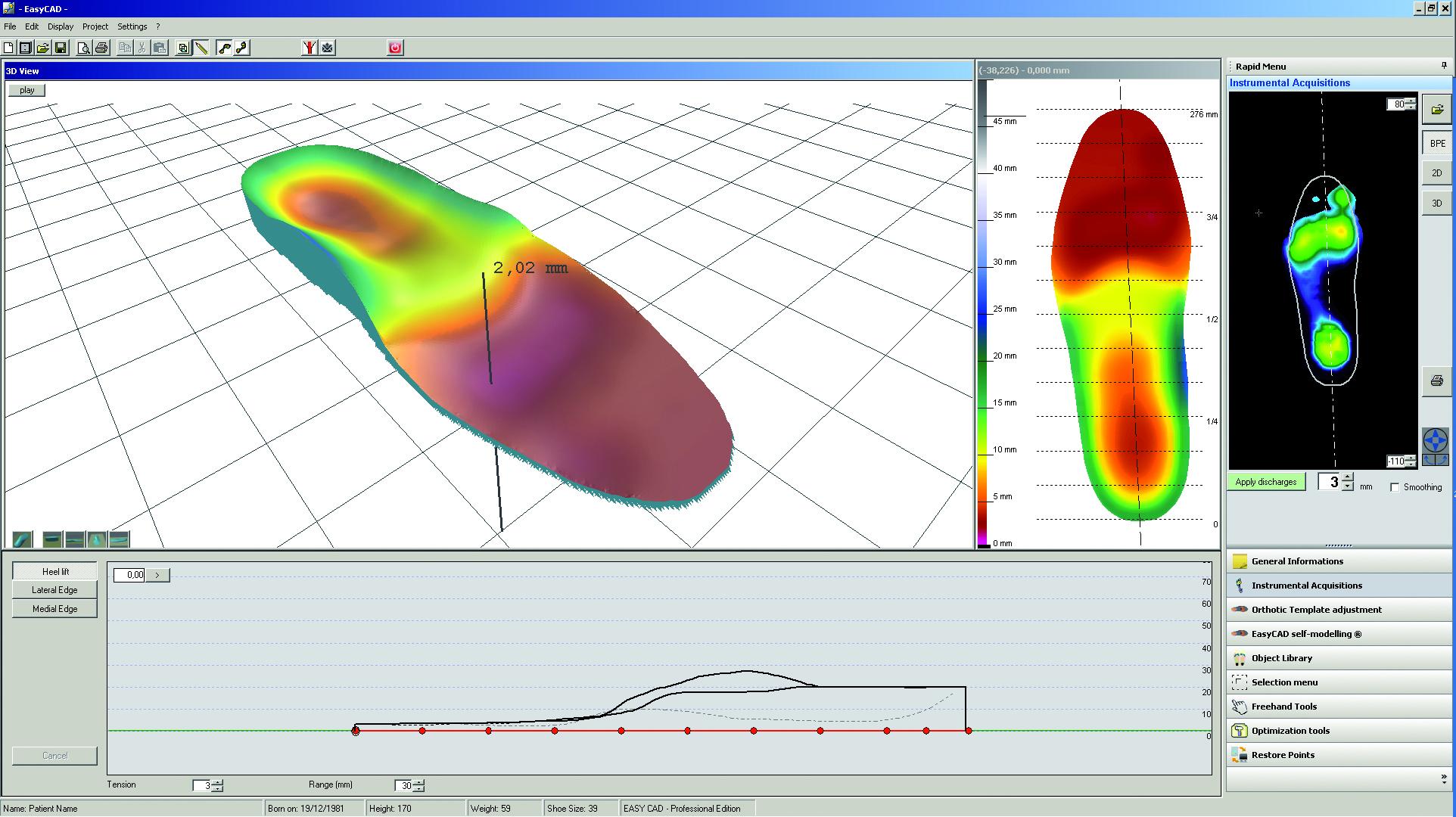 Software diseño plantillas
