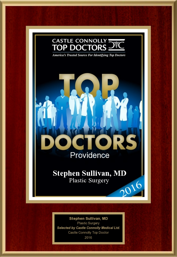 Castle Connolly   Dr. Stephen Sullivan is a 2016 America's Top Doctor and Plastic Surgeon, selected by his medical peers from across the U.S. This honor IS given to only the top plastic surgeons and medical specialists.