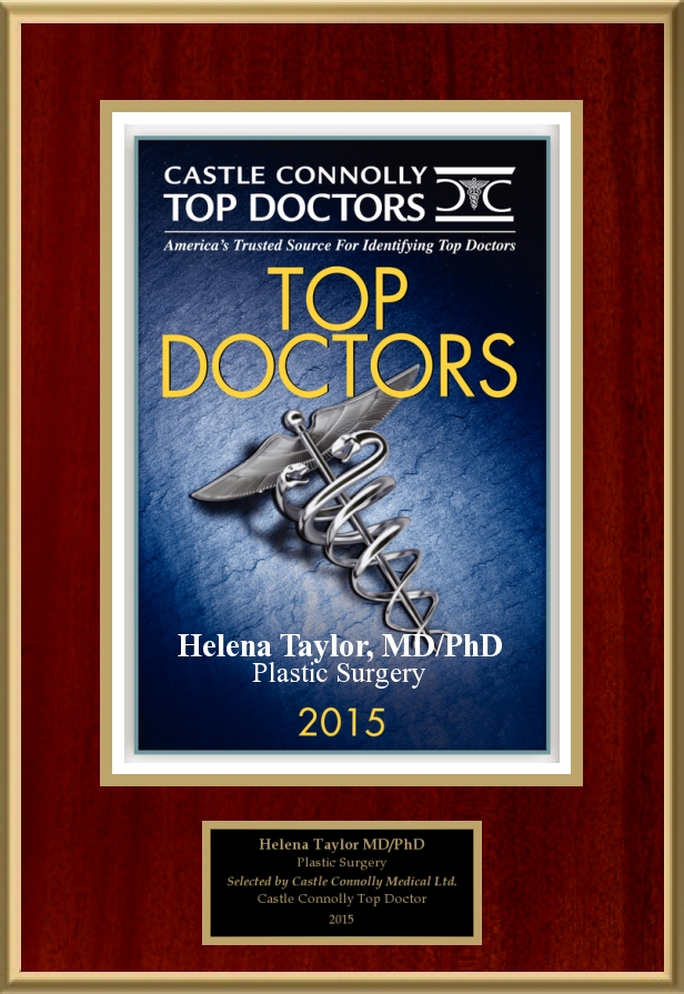 Castle Connolly   Dr. Helena Taylor is a 2015 America's Top Doctor, selected by her medical peers from across the U.S. This honor is given to only the top plastic surgeons and medical specialists.