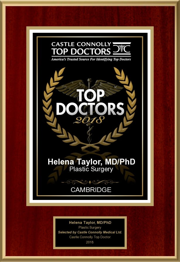Castle Connolly   Dr. Helena Taylor is a 2018 America's Top Doctor, selected by her medical peers from across the U.S. This honor is given to only the top plastic surgeons and medical specialists.