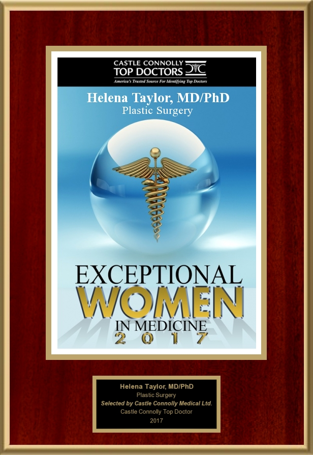 Castle Connolly   Dr. Helena Taylor is a 2017 recipient of Exceptional women in medicine, selected by her medical peers from across the U.S. This honor is given to only the Women who are leaders in Medicine.