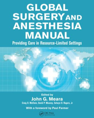Sullivan SR ,  Taylor HO . Wound care. In: Meara J, McClain C, Mooney D, Rogers S, eds.  Global Surgery and Anesthesia Manual: Providing Care in Resource-limited Settings . Chapter 36:419-427. 2015. CRC Press, Boca Raton, Florida, USA