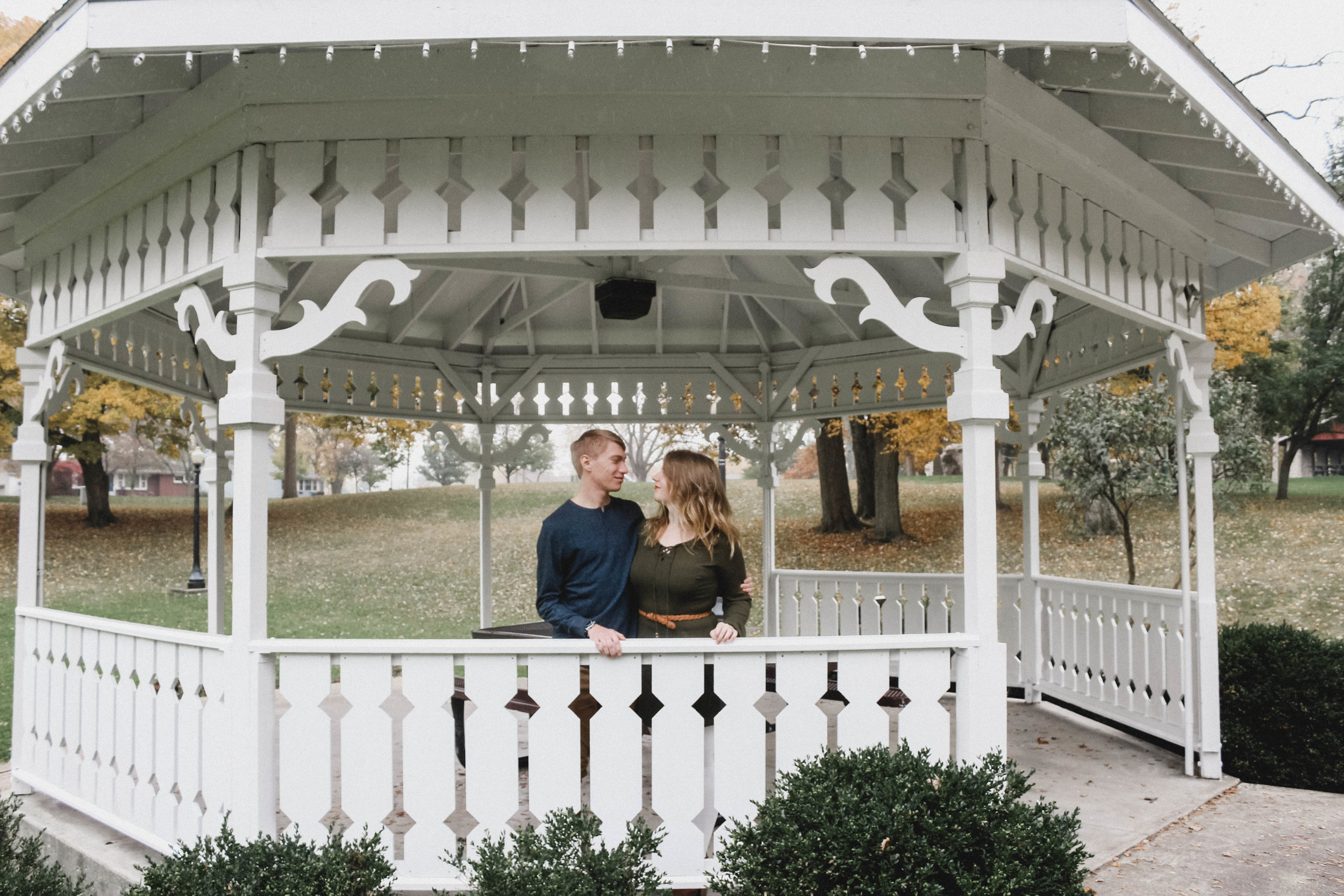 Fall Engagement Photography   North Manchester, Ind.