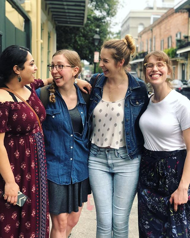 We combined three Sarahs and an Ashni in the French Quarter and you won't believe what happened next!