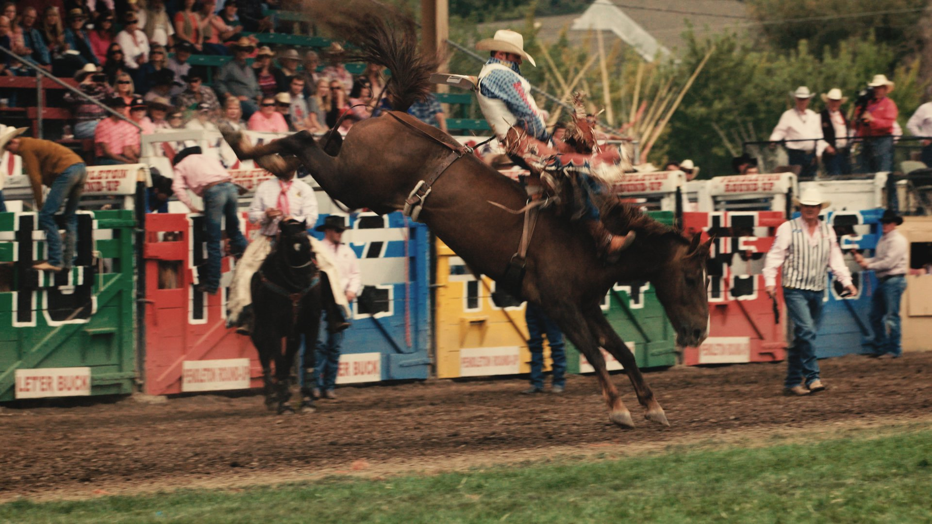 Let'er Buck, a rodeo documentary playing Friday at 8:00 pm