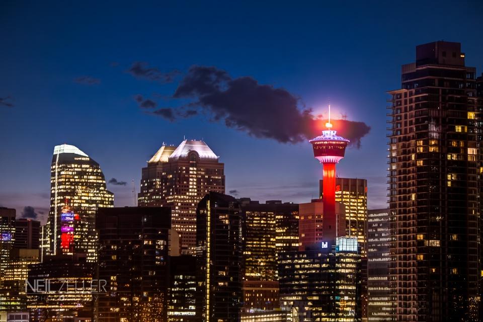 Calgary Tower - Oct 22