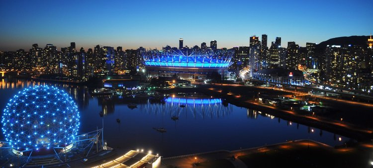 BC Place Vancouver - Oct 20