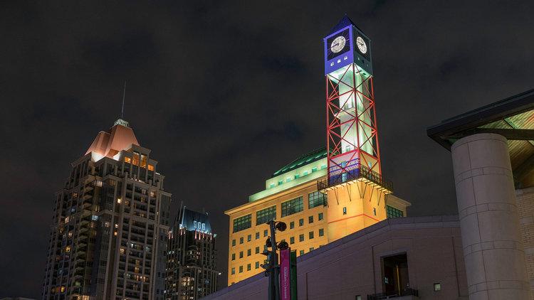 Mississauga Clock Tower-Oct 20
