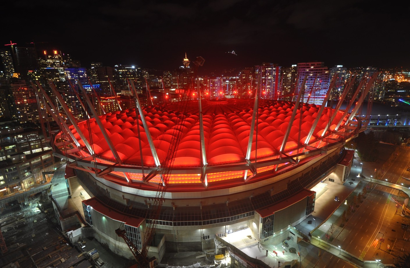 BC Place, Vancouver, BC – Oct 21