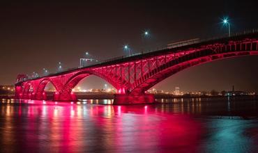 Fort Erie Peace Bridge, ON – Oct 21