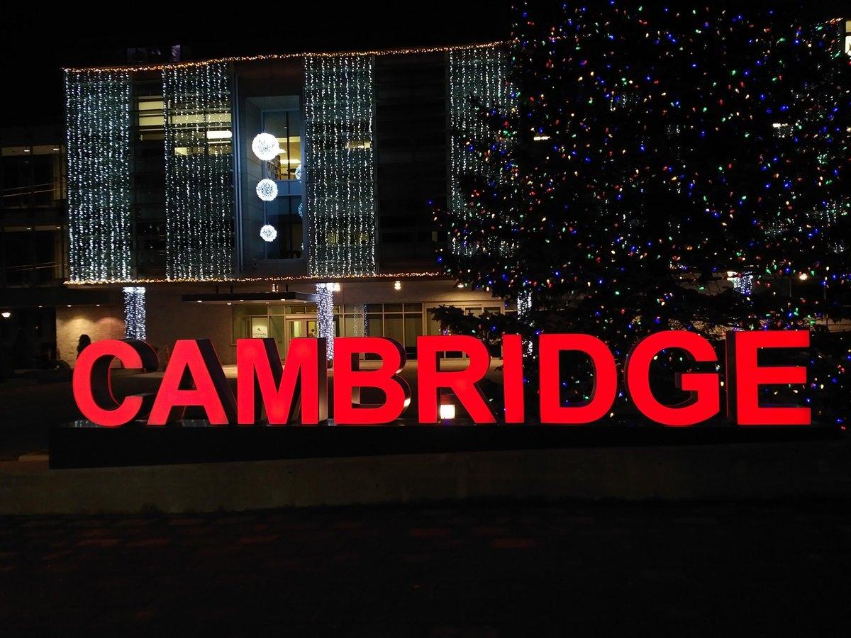 Copy of Cambridge sign and pedestrian bridge - Oct 22