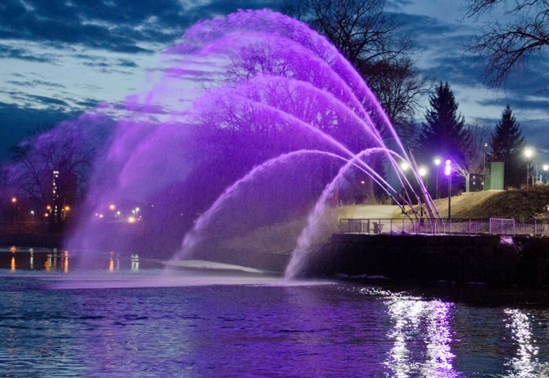 Copy of The Fountain at the Forks, London, ON - Oct 17