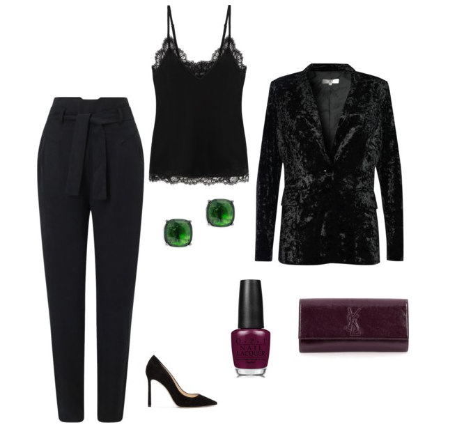 Black New Year's Eve Outfit