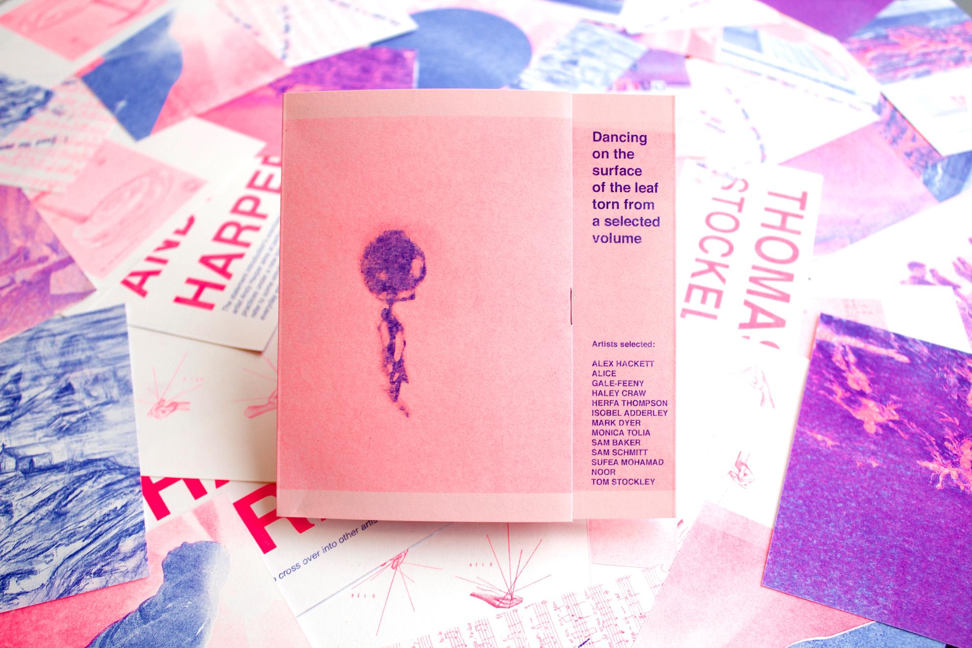 The Cornish Weekender - Dissy Ink - Book Design - risograph.jpg