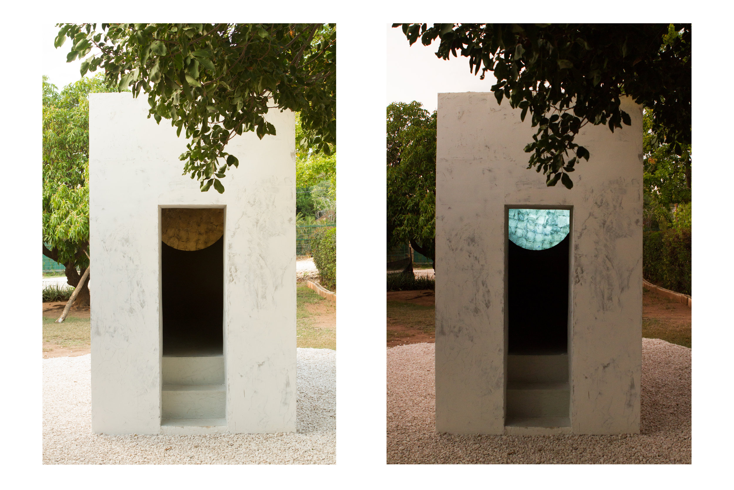 FORUM III, Day and Night Installation view