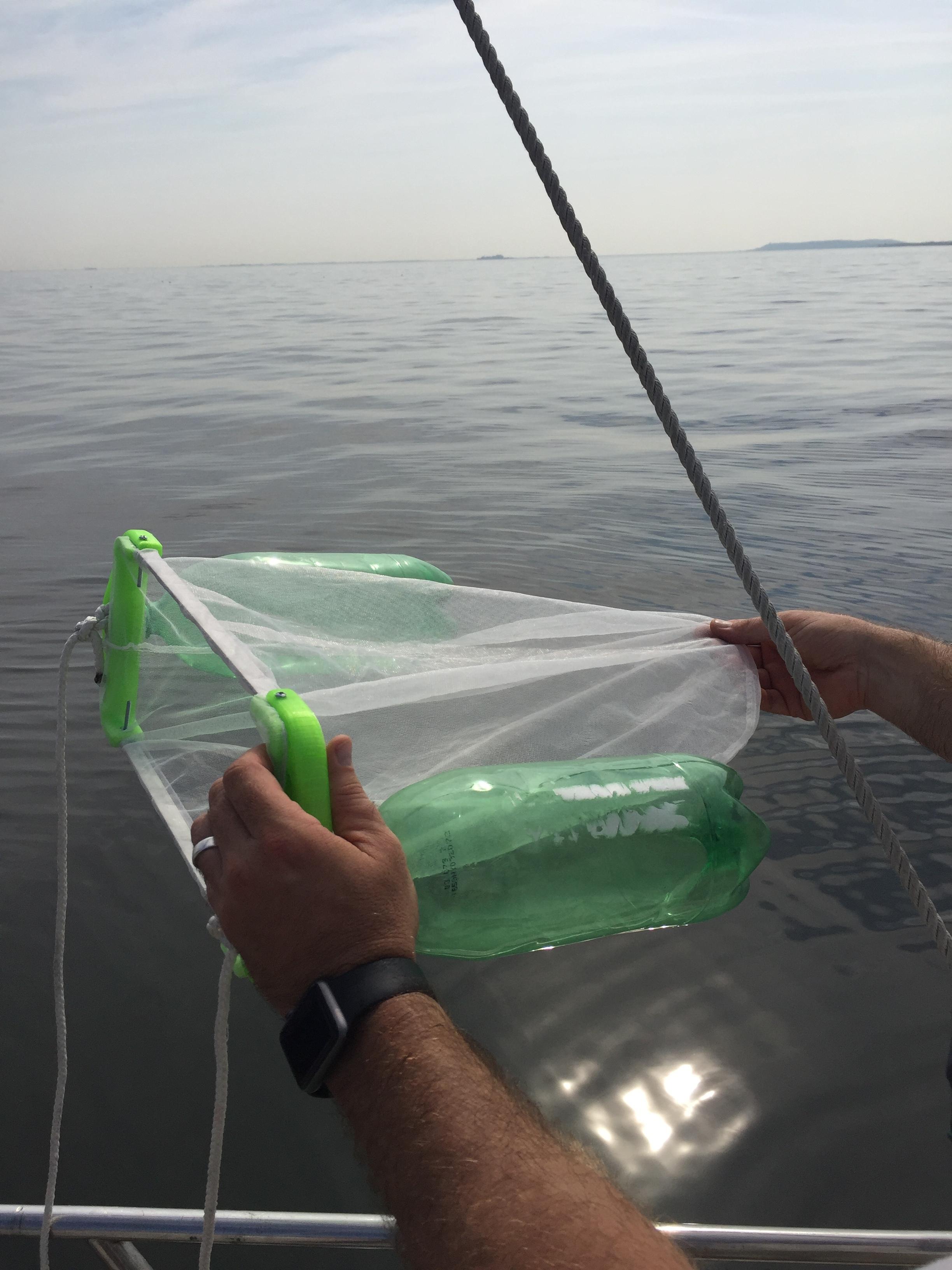 Re3DP Trawl post trawl test