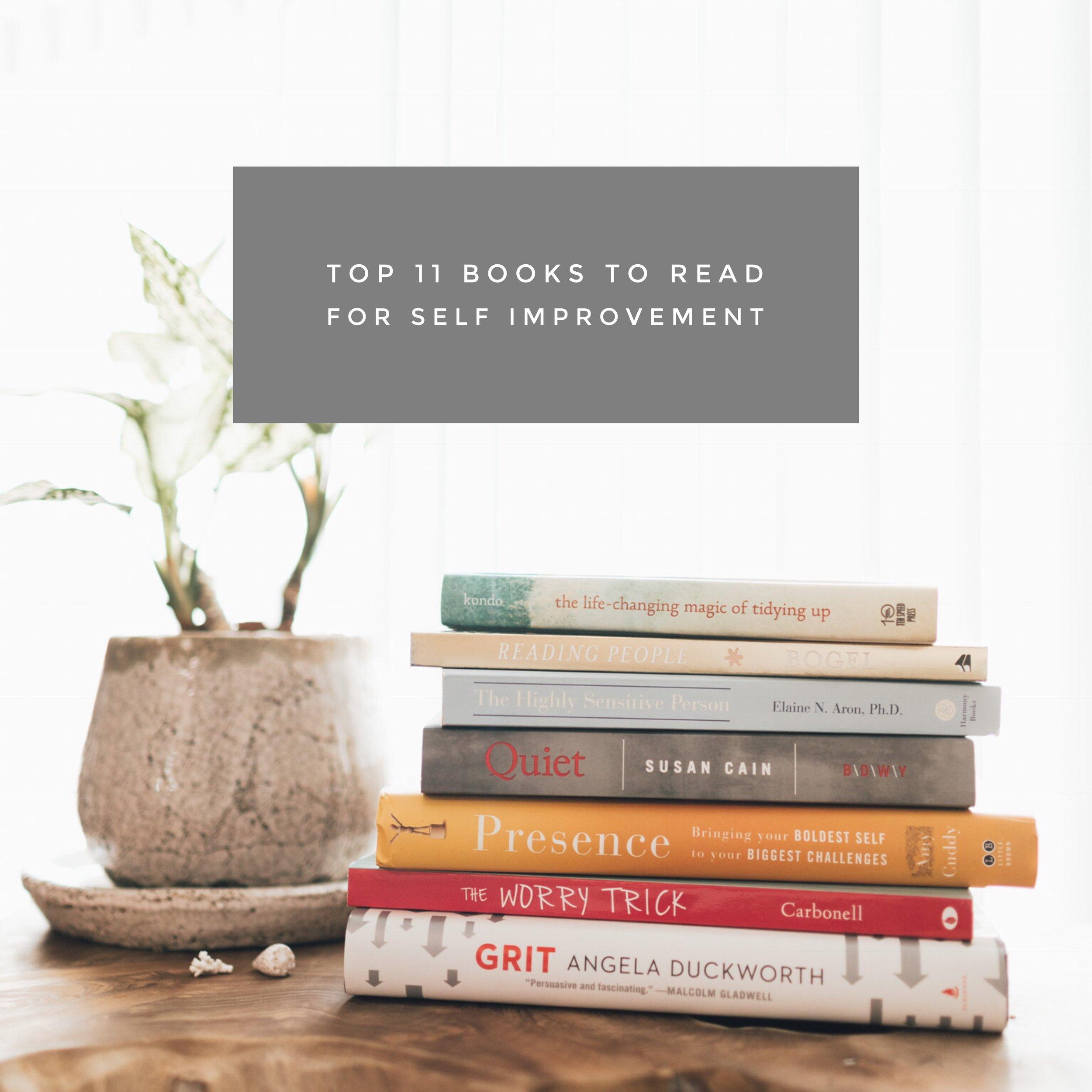 nov 19  11 Books to Read for Self Improvement
