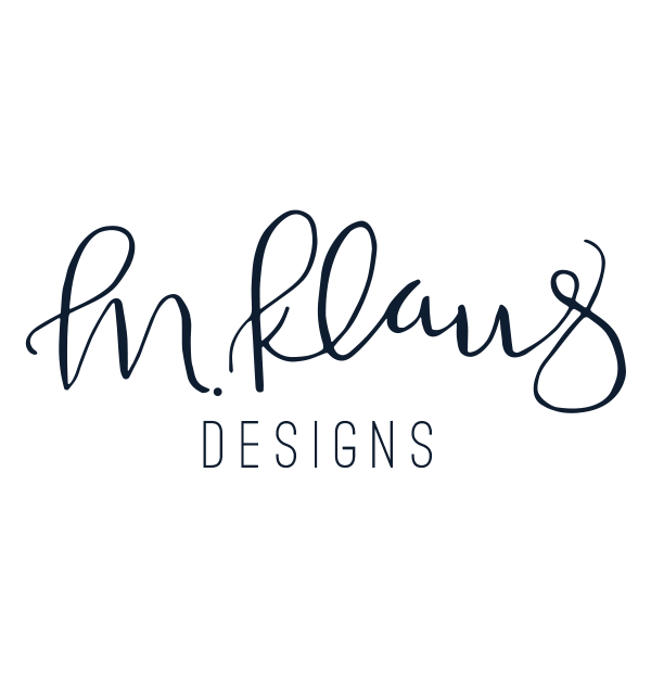 Handlettered logo