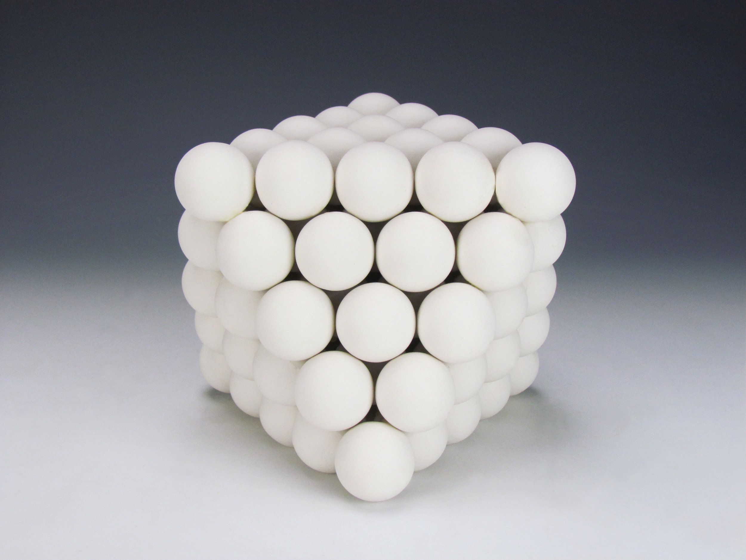 Ionic Series: Octahedron  |  8 x 8 x 10 inches  |  Porcelain  |  2016