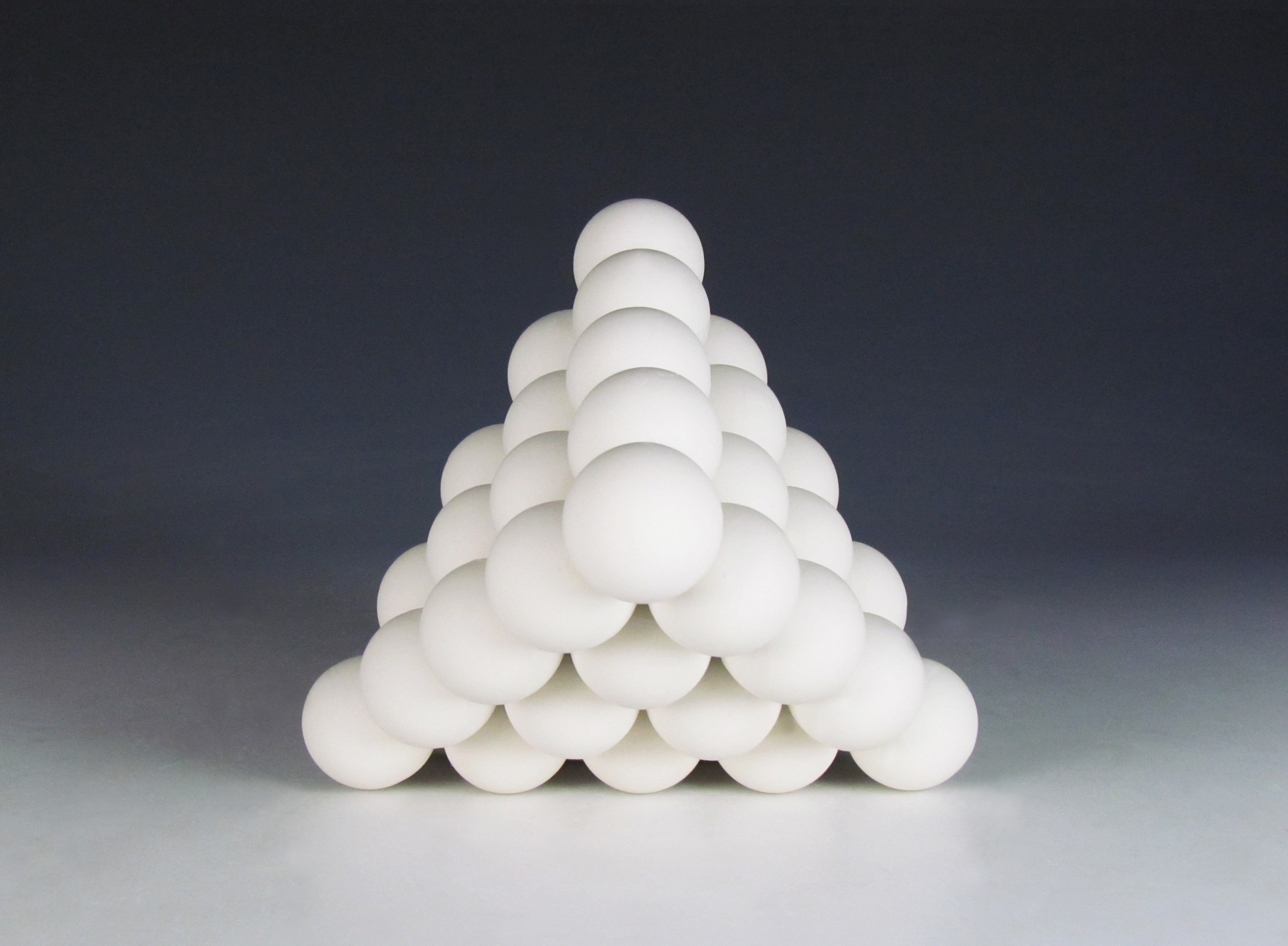 Ionic Series: Octahedron  |  5 x 5 x 12 inches  |  Porcelain  |  2016
