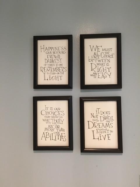 Inspiring  Dumbledore  quotes.