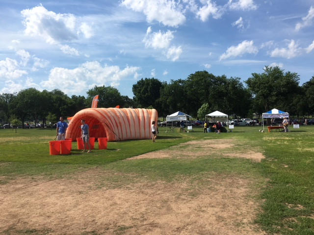Yes, that is an inflatable colon.