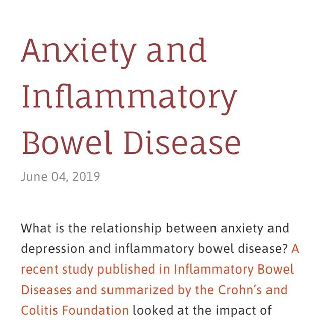 New blog post on my experience with anxiety and IBD. Link in bio. #chronicillness #ibd #ulcerativecolitis #anxiety #hopeinflamed