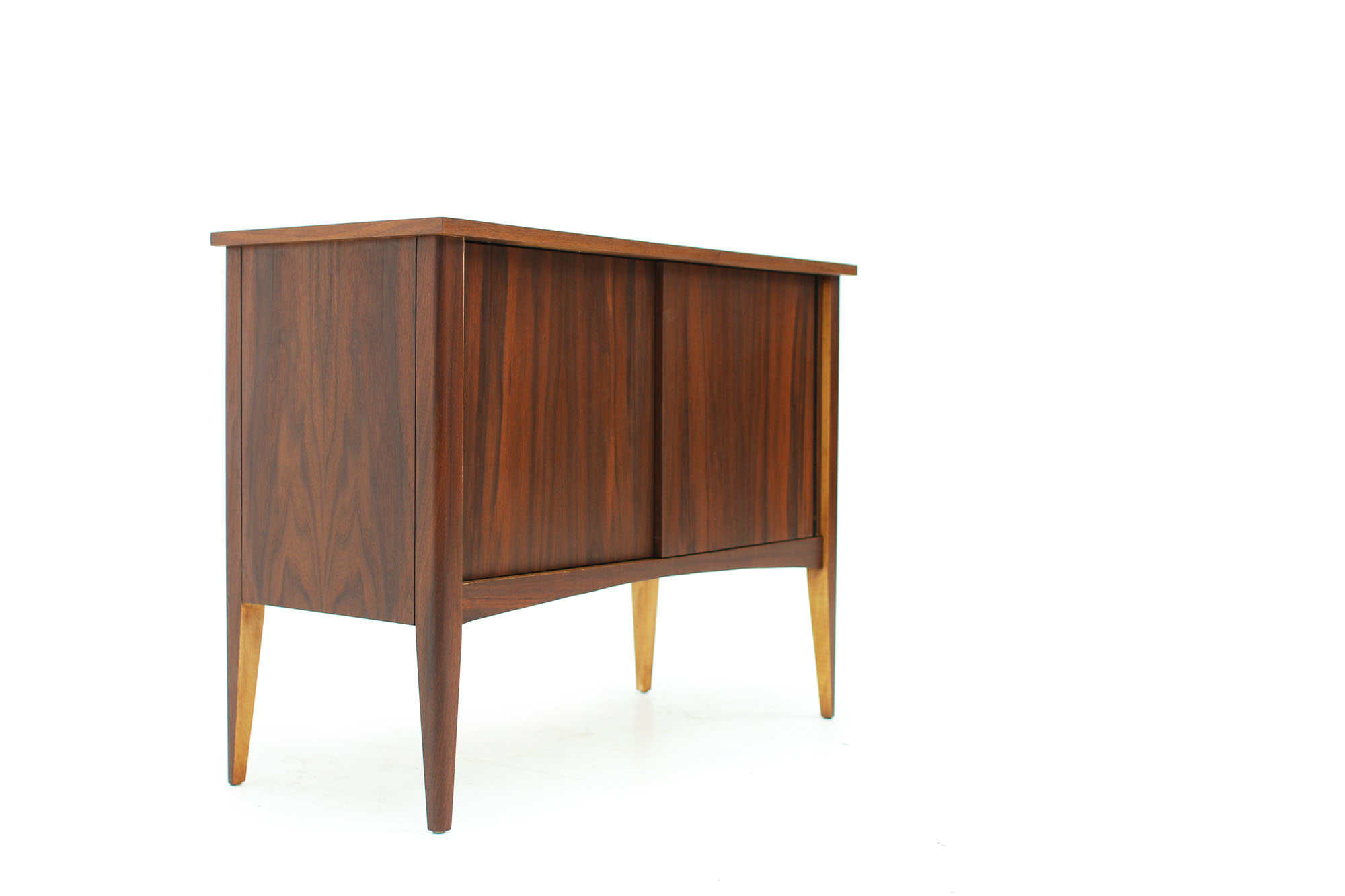 MCM Small Walnut LP Storage Console (2).jpg