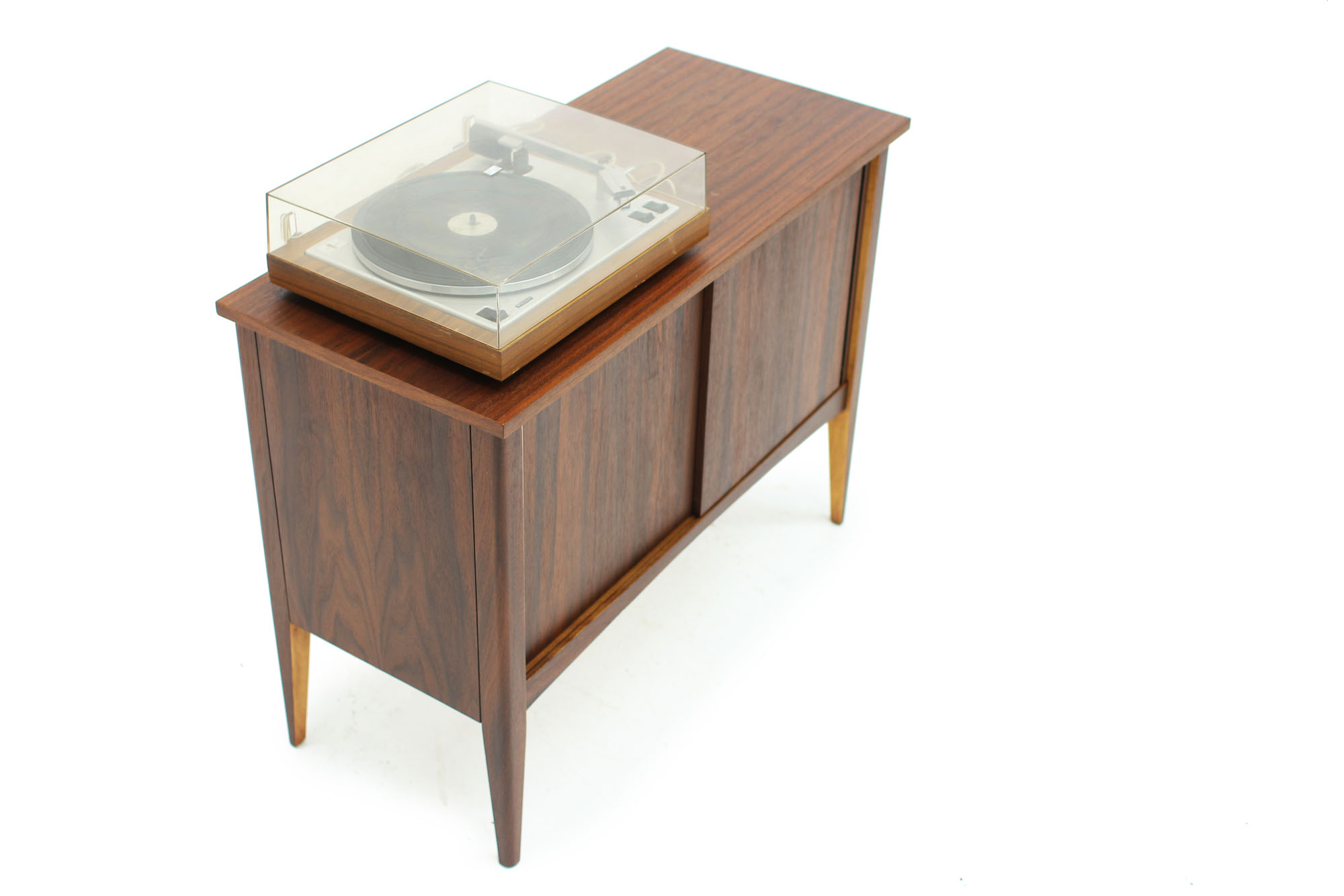 MCM Small Walnut LP Storage Console (3).jpg