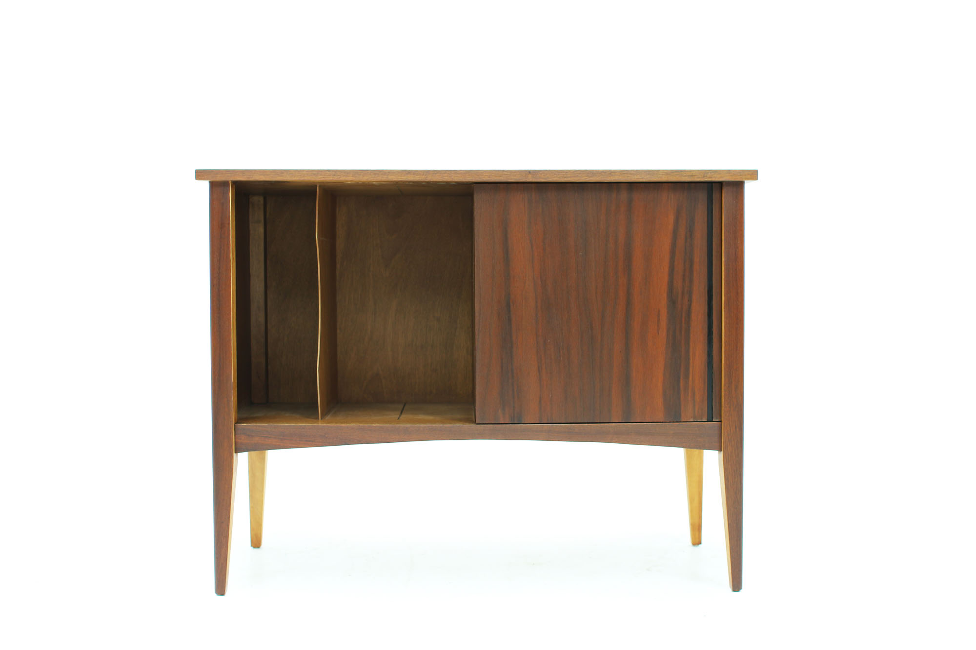 MCM Small Walnut LP Storage Console (5).jpg