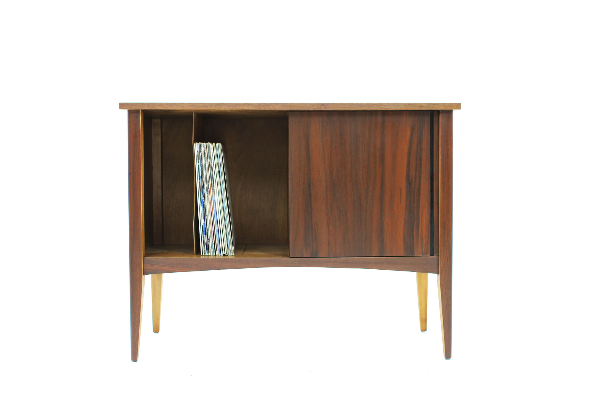 MCM Small Walnut LP Storage Console (6).jpg