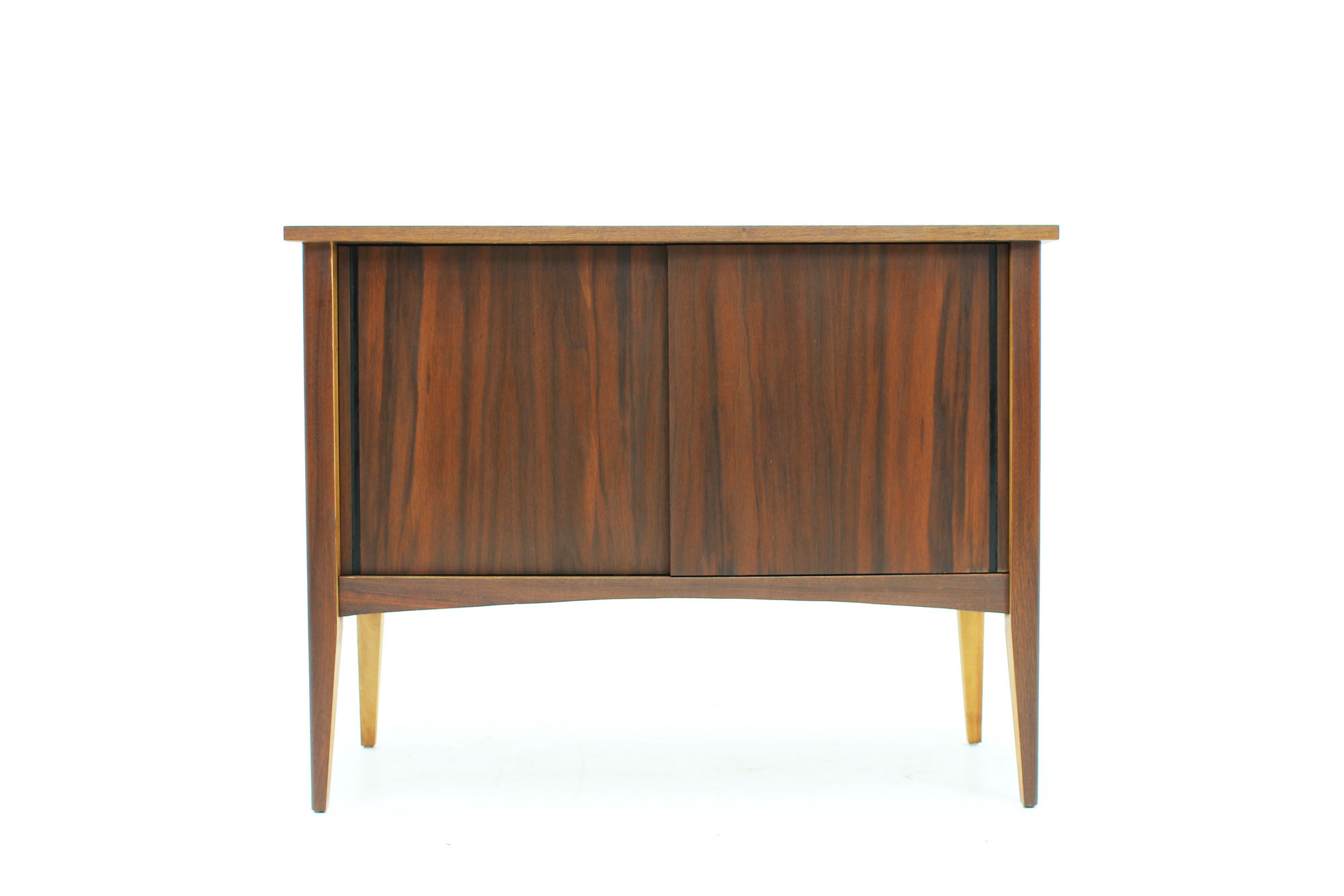MCM Small Walnut LP Storage Console (8).jpg
