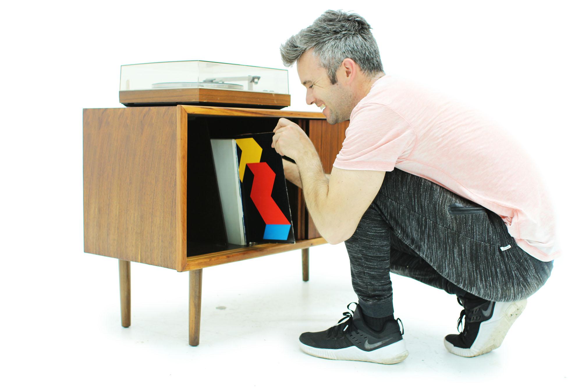 Mid Century Modern Walnut Record Cabinet (2).jpg