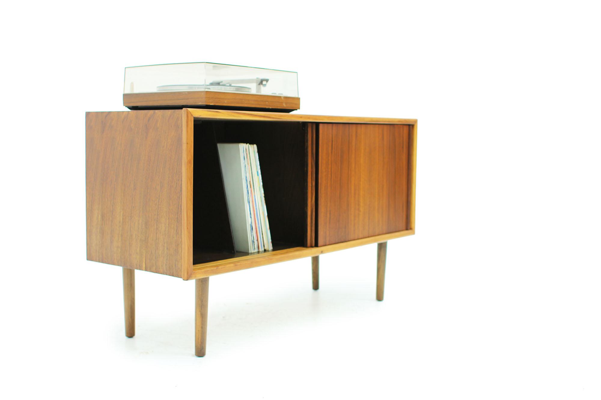 Mid Century Modern Walnut Record Cabinet (3).jpg