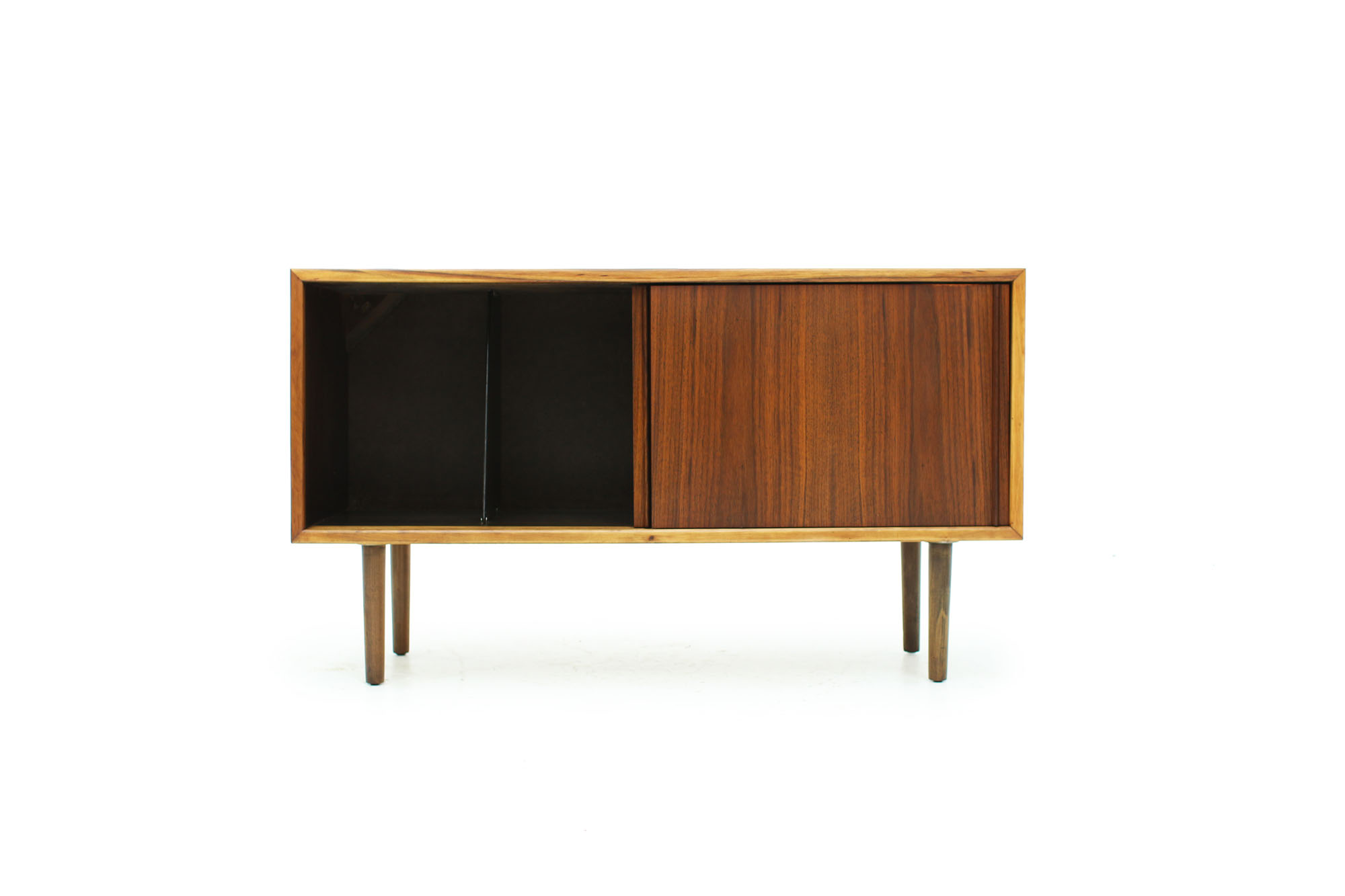 Mid Century Modern Walnut Record Cabinet (6).jpg