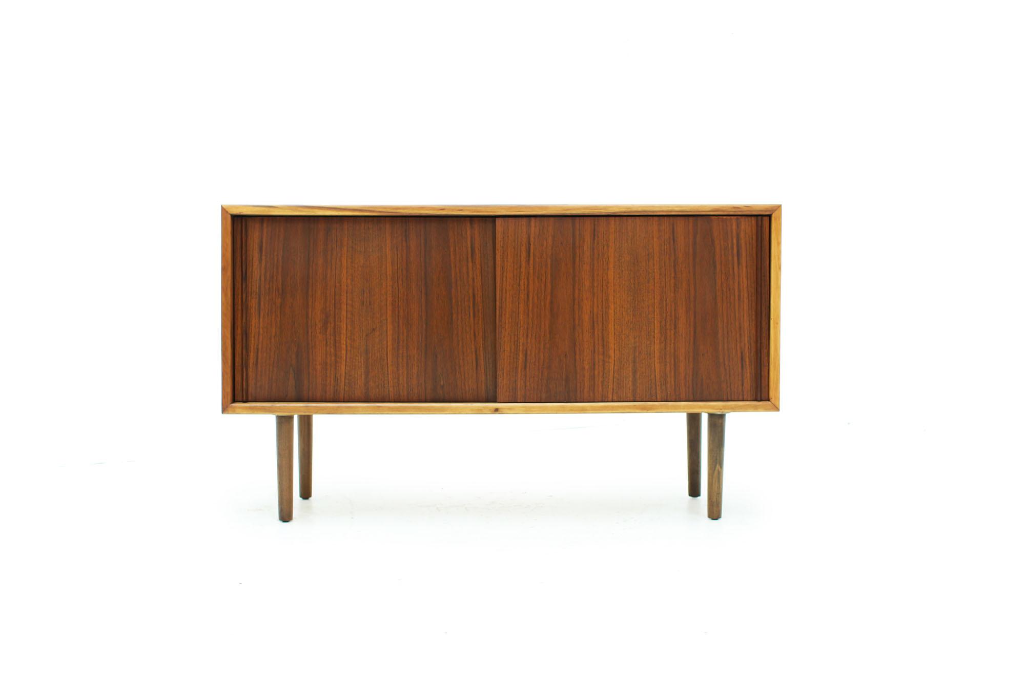 Mid Century Modern Walnut Record Cabinet (7).jpg