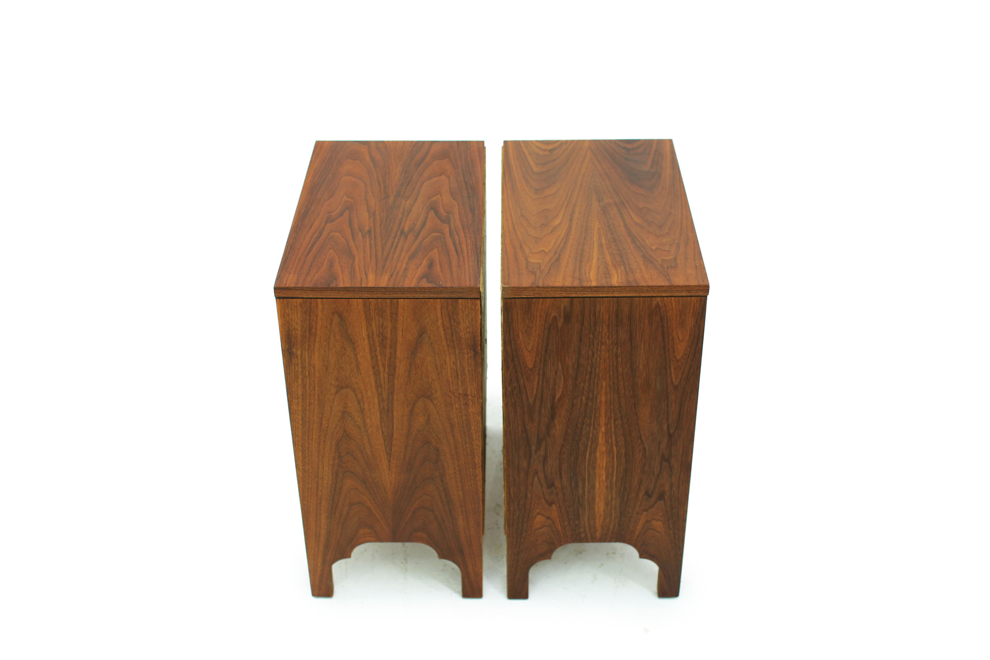 Pair of Walnut Bedside Night Stands Mid century modern design (1).jpg