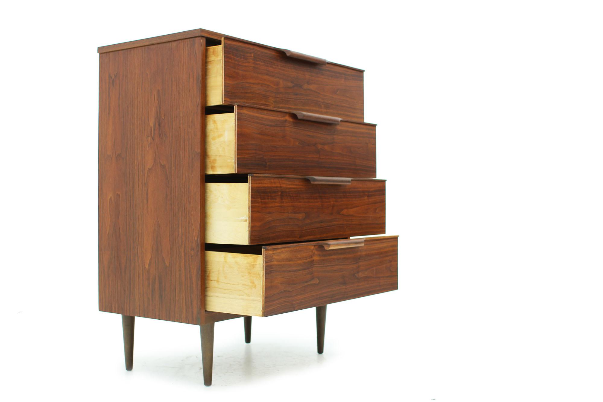 Retro 1960s Walnut Tall Dresser with Sculptural Handles (4).jpg