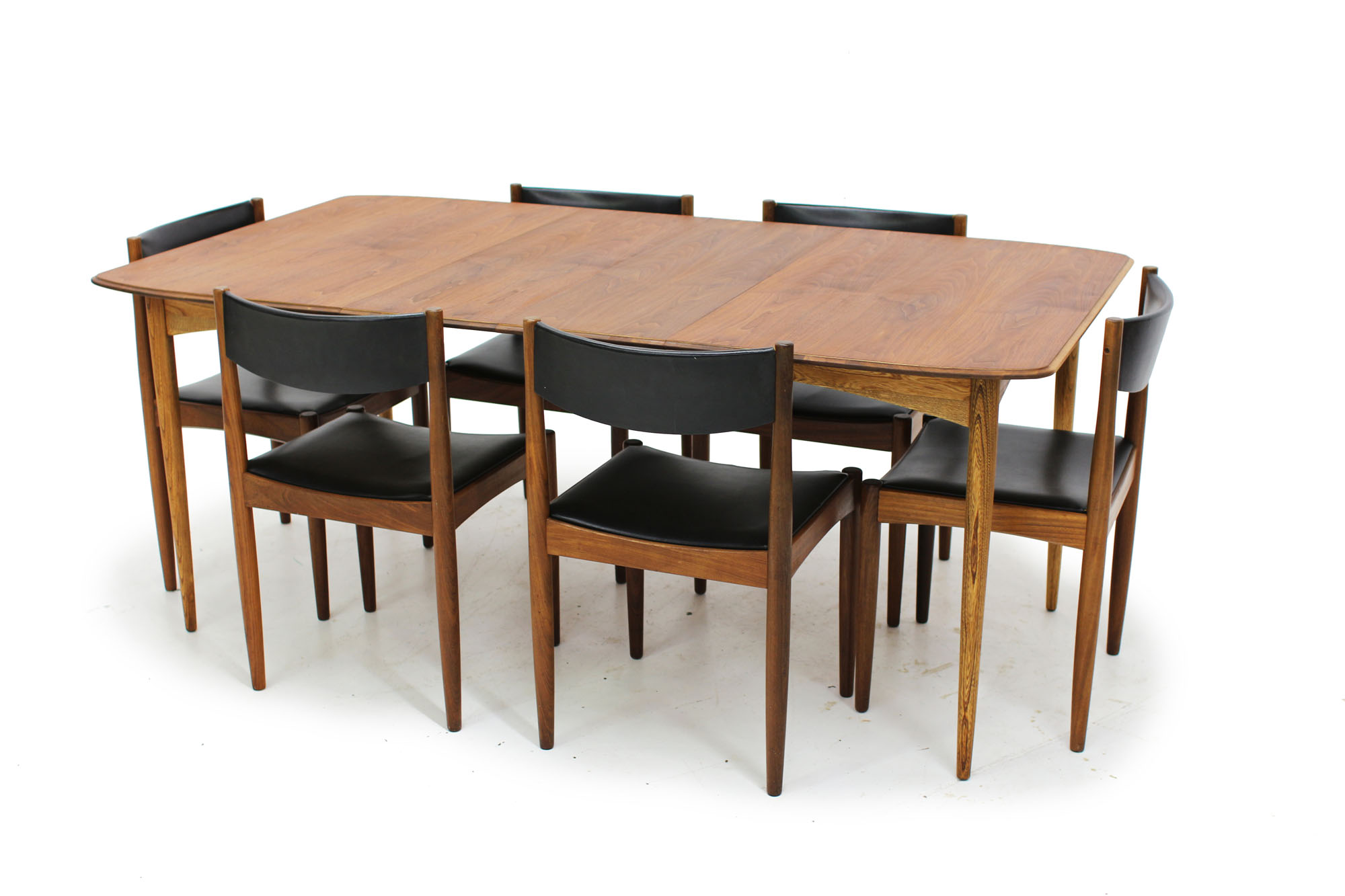 Set of 6 Mid Century Teak Dining Chairs designed by Poul Volther Made in Denmark (3).jpg