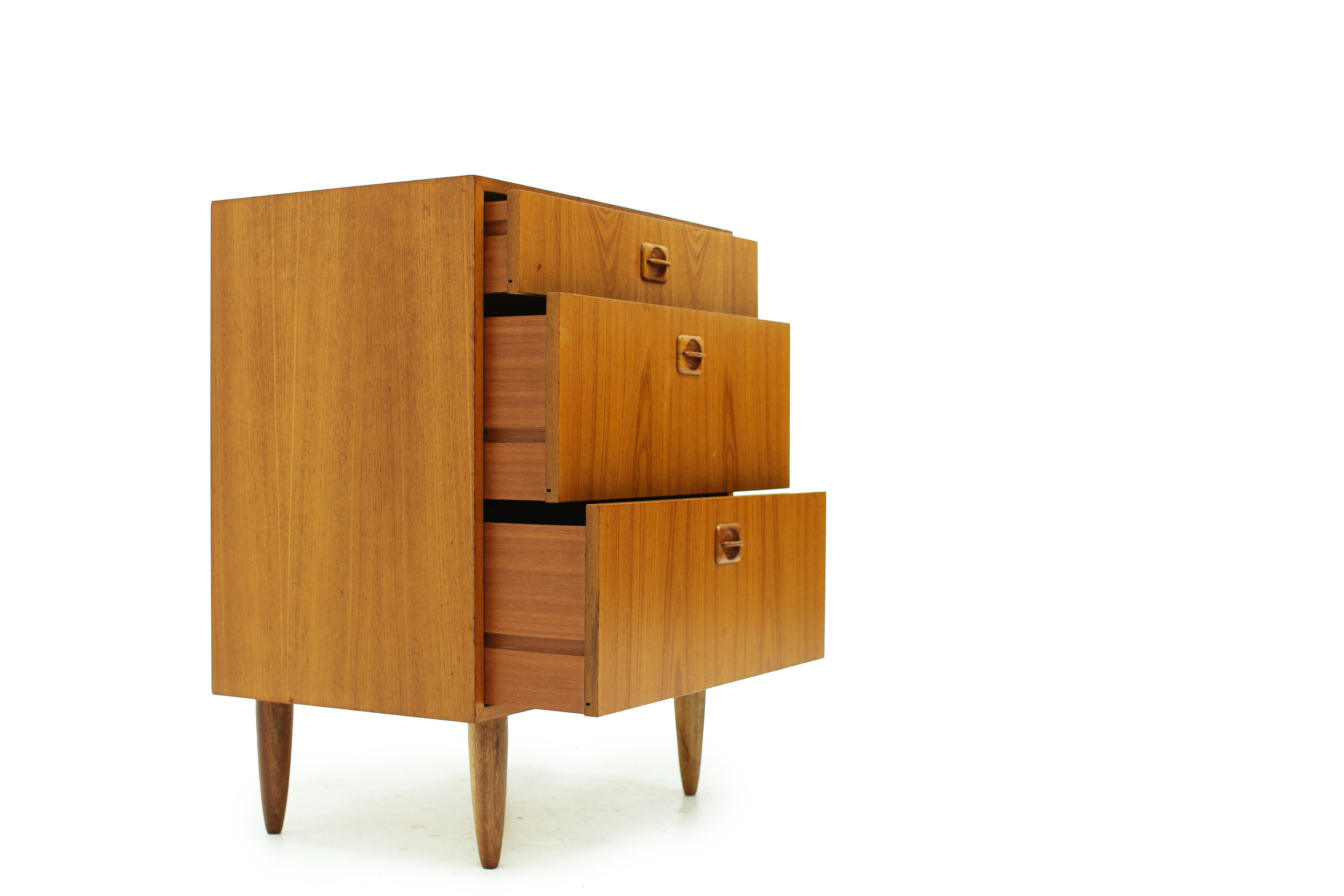Mid Mod Small Drawer Cabinet - Great for Entranceway (3).jpg