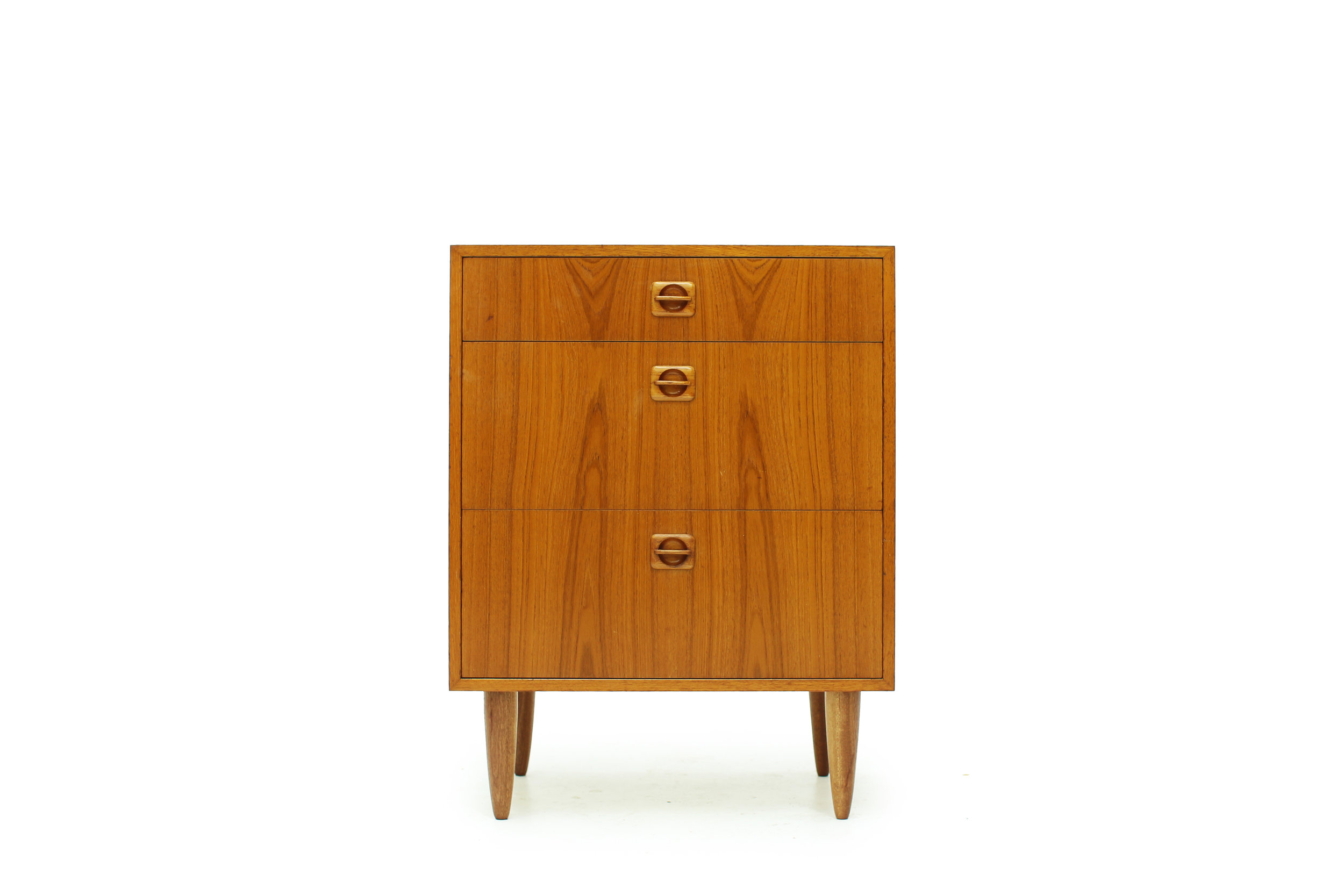 Mid Mod Small Drawer Cabinet - Great for Entranceway (1).jpg