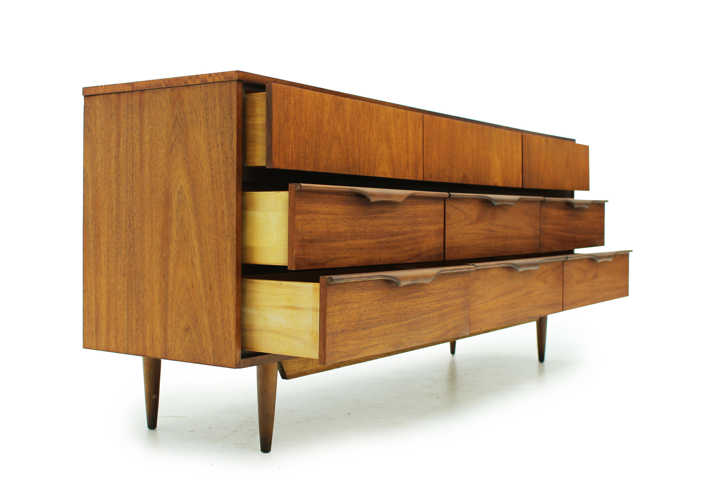 Beautiful MCM Walnut 9 Drawer Dresser (1).jpg