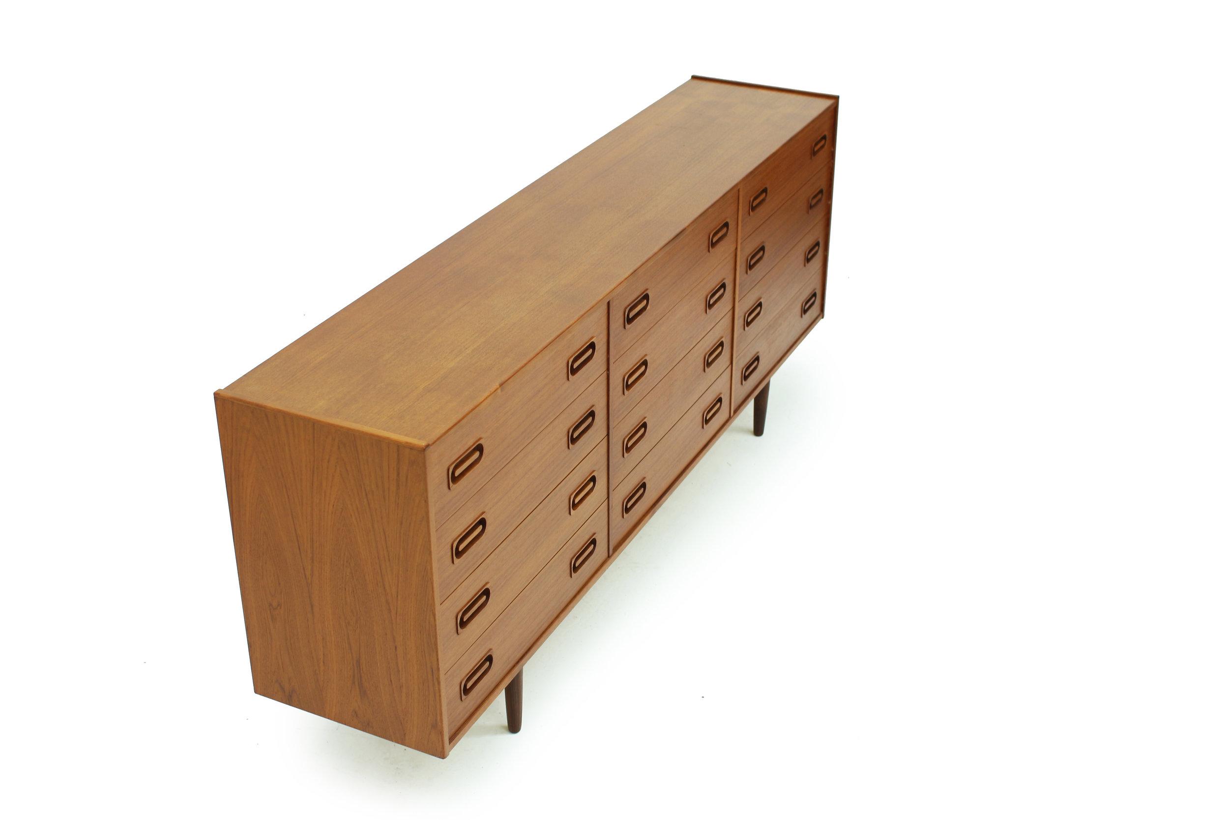 Danish Teak 12 Drawer Dresser by Dyrlund (3).jpg